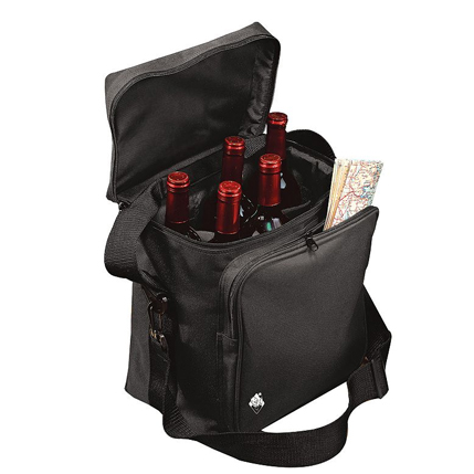 6 Bottle Wine Travel Bag